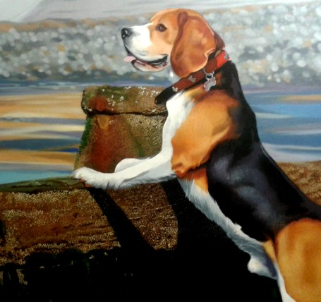 David Pennington Pet Portraits in oil on canvas Lancashire penningtonART