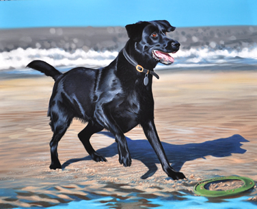 Ruby - Oil Painting by David Pennington, Lancashire PenningtonART